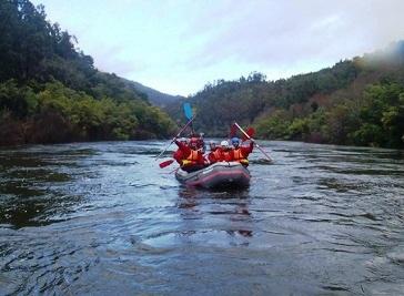 Rafting Geres in the Minho river in Porto